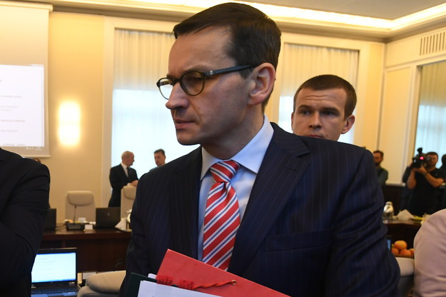Mateusz Morawiecki /Bartłomiej Zborowski /PAP