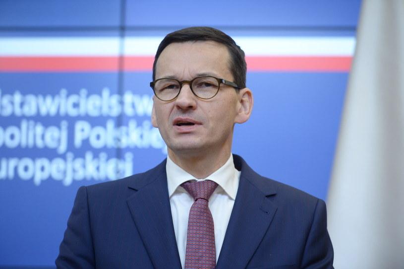 Mateusz Morawiecki /Marcin Obara /PAP