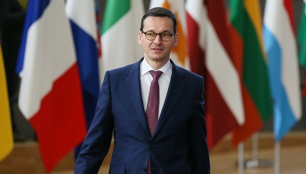 Mateusz Morawiecki /STEPHANIE LECOCQ  /PAP/EPA