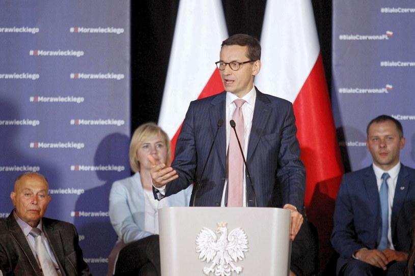 Mateusz Morawiecki /Aleksander Koźmiński /PAP