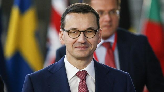 Mateusz Morawiecki /JULIEN WARNAND /PAP/EPA