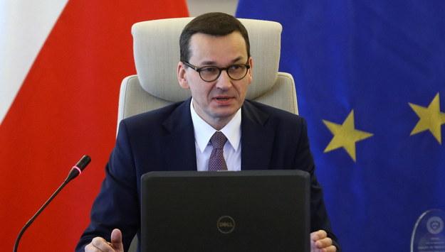 Mateusz Morawiecki /Rafał Guz /PAP