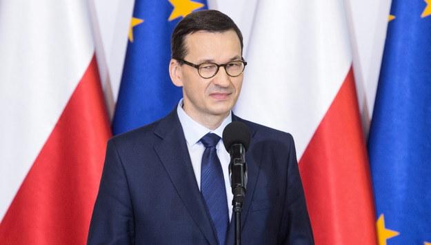 Mateusz Morawiecki /Wojtek Jargiło /PAP