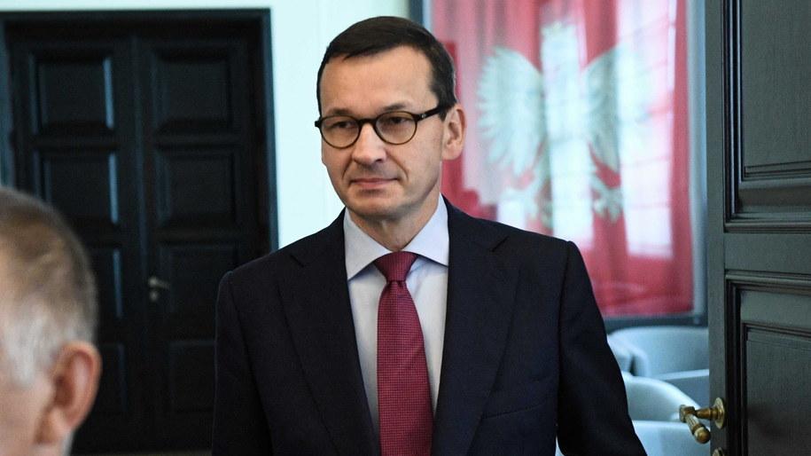 Mateusz Morawiecki / Radek Pietruszka   /PAP
