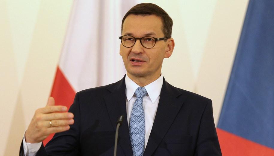 Mateusz Morawiecki /Milan Kammermayer /PAP/EPA