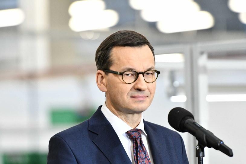 Mateusz Morawiecki / Piotr Polak    /PAP