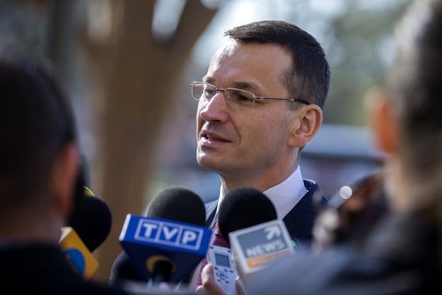 Mateusz Morawiecki /PAP/EPA