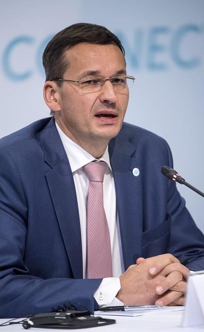Mateusz Morawiecki /EPA