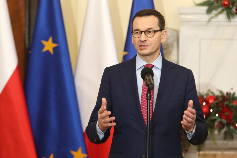 Mateusz Morawiecki /Tomasz Jastrzębowski /Reporter