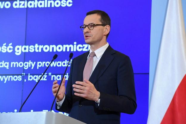 Mateusz Morawiecki /Piotr Nowak /PAP