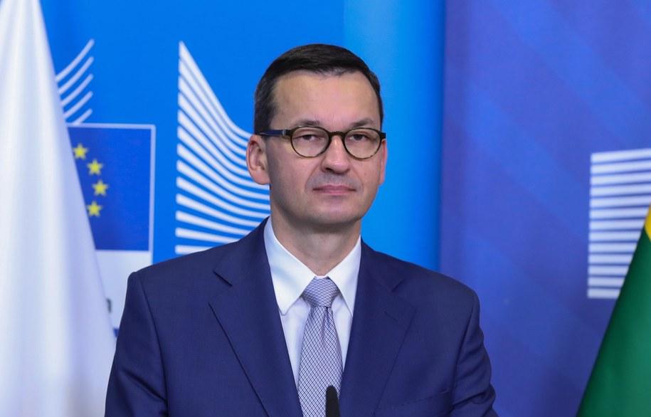 Mateusz Morawiecki /ARIS OIKONOMOU/POOL /PAP/EPA