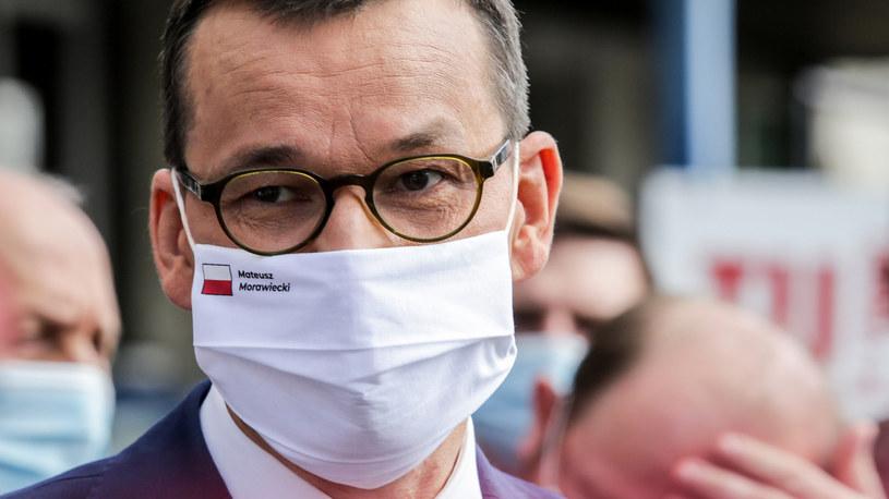 Mateusz Morawiecki /Dominik Gajda /Reporter