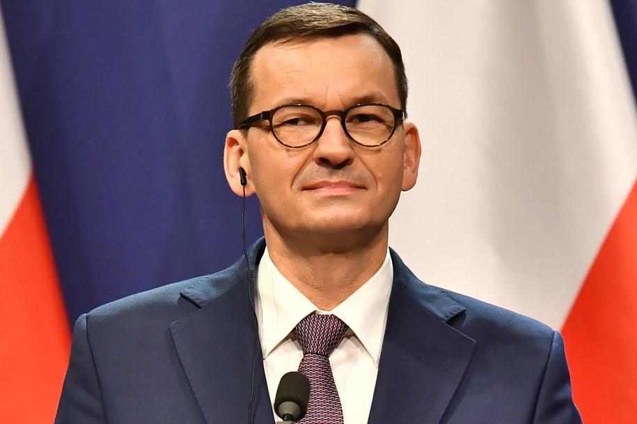Mateusz Morawiecki /Andrzej Lange /PAP