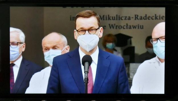 Mateusz Morawiecki / Maciej Kulczyński    /PAP