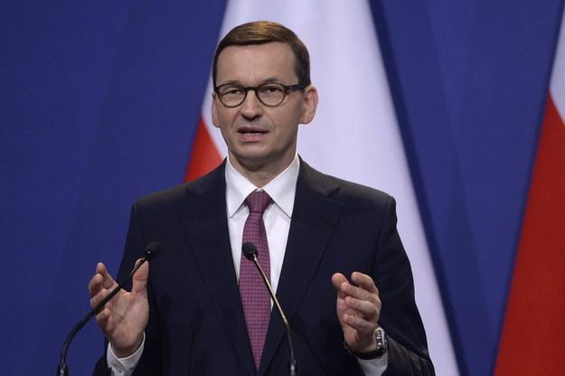 Mateusz Morawiecki /Szilard Koszticsak /PAP/EPA