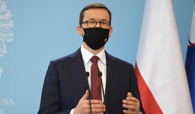 Mateusz Morawiecki / Marcin Obara  /PAP