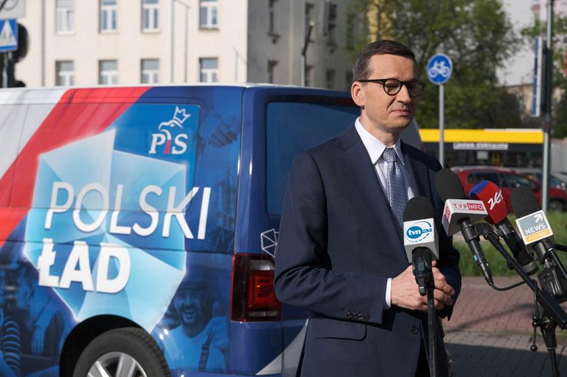 Mateusz Morawiecki /PAP/Mateusz Marek /PAP