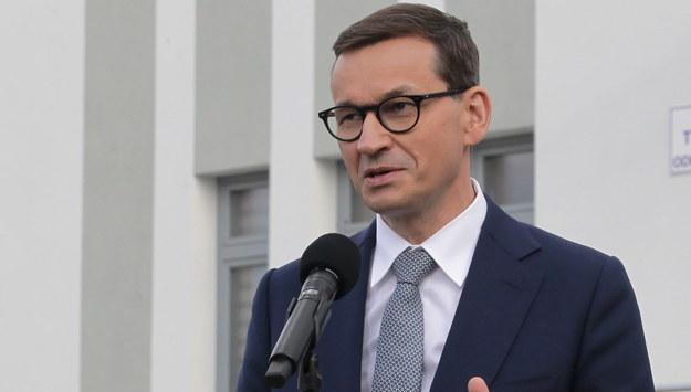 Mateusz Morawiecki /Tomasz Waszczuk /PAP