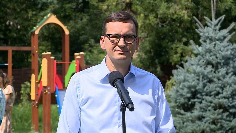 Mateusz Morawiecki /Polsat News