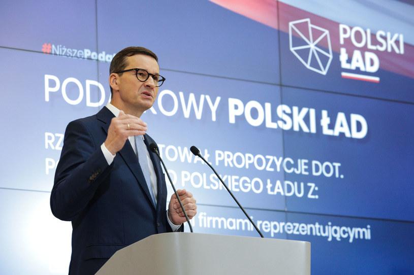 Mateusz Morawiecki /Andrzej Hulimka  /Agencja FORUM