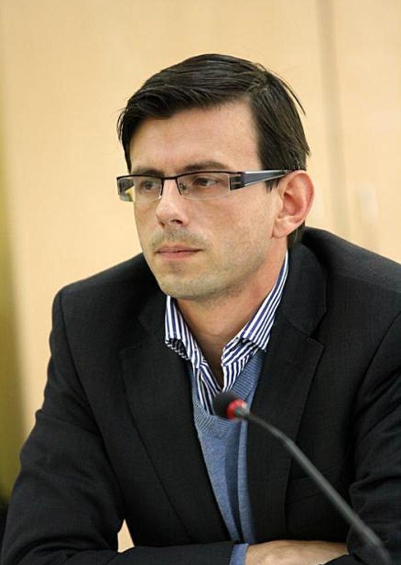 Mateusz Mykytyszyn, prezes Fundacji Księżnej Daisy von Pless w Książu /Odkrywca