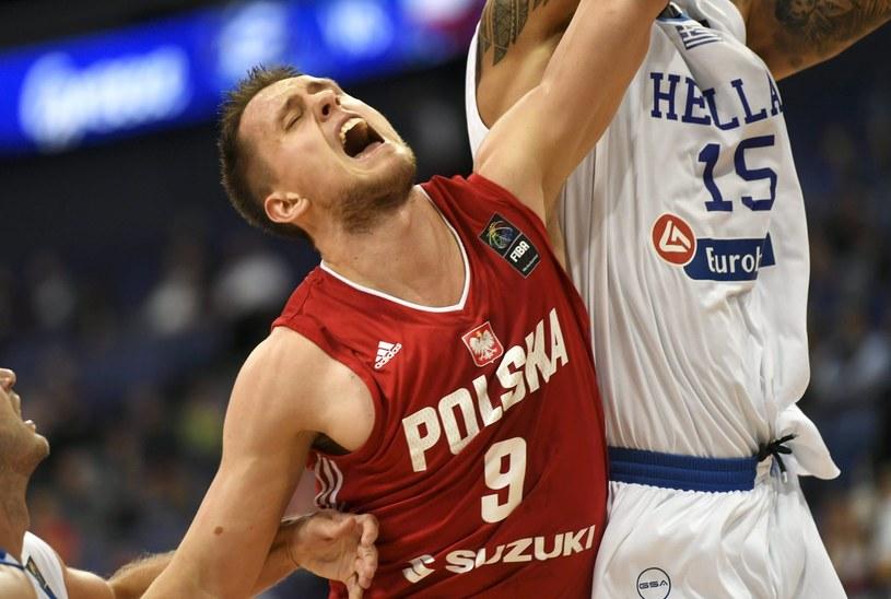 Mateusz Ponitka w barwach reprezentacji Polski /AFP