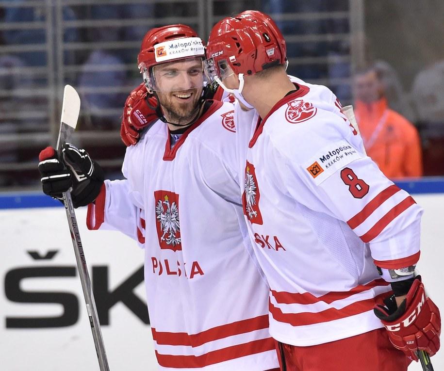 Mateusz Rompkowski i Aron Chmielewski w czasie ubiegłorocznych MŚ 1A, które rozegrane zostały w Krakowie /Jacek Bednarczyk /PAP