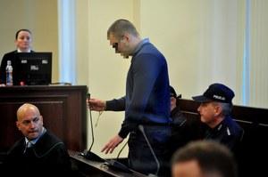 Mateusz S. na sali sądowej //PAP