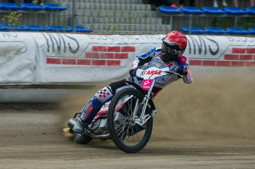 Mateusz Szczepaniak był pierwszoplanowym zawodnikiem Speedway Wandy Kraków /Łukasz Krajewski /Newspix