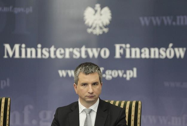Mateusz Szczurek, minister finansów RP. Fot. Stanisław Kowalczuk /Agencja SE/East News
