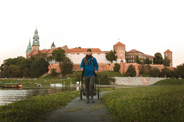 Mateusz Waligóra w Krakowie /Alina Kondrat /