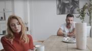 """Mateusz Ziółko i Karolina Chapko """"W płomieniach"""" (serial """"Barwy szczęścia"""")"""