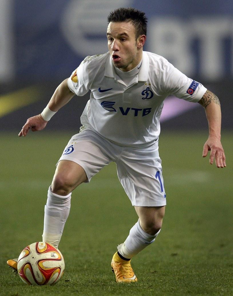 Mathieu Valbuena, piłkarz Dynama Moskwa /AFP