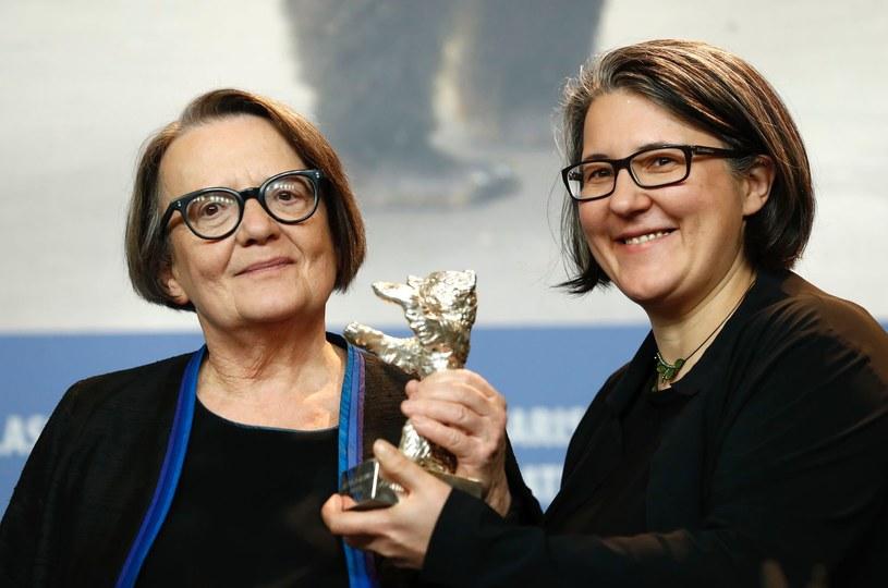 Matka i córka: Agnieszka Holland i Katarzyna Holland będą rywalizowały o Złote Lwy /AFP