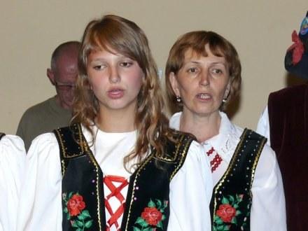 Matka i córka: Waleria i Marta Szkwarkówny. /Euroregio Glacensis