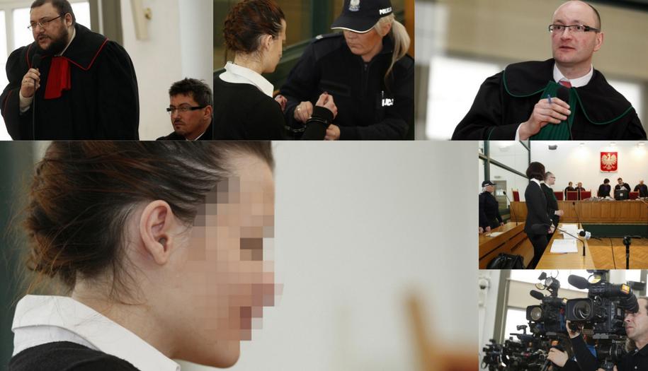 Matka małej Magdy stanęła przed sądem /Andrzej Grygiel /PAP