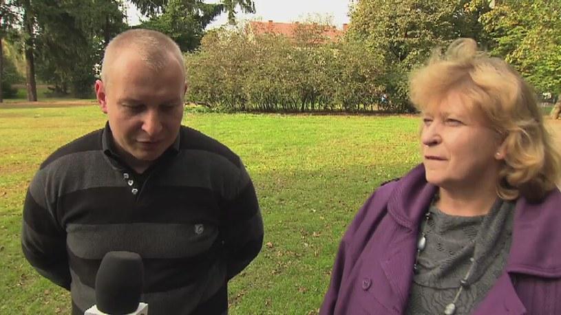 Matka z PiS, syn od Korwina /TVN24/x-news