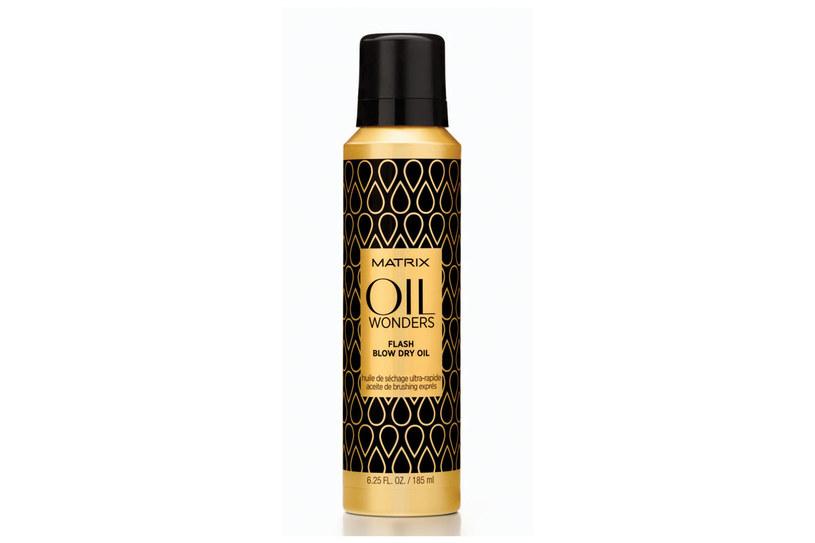Matrix Oil Wonders: Olejek Profesjonalne Suszenie /materiały prasowe