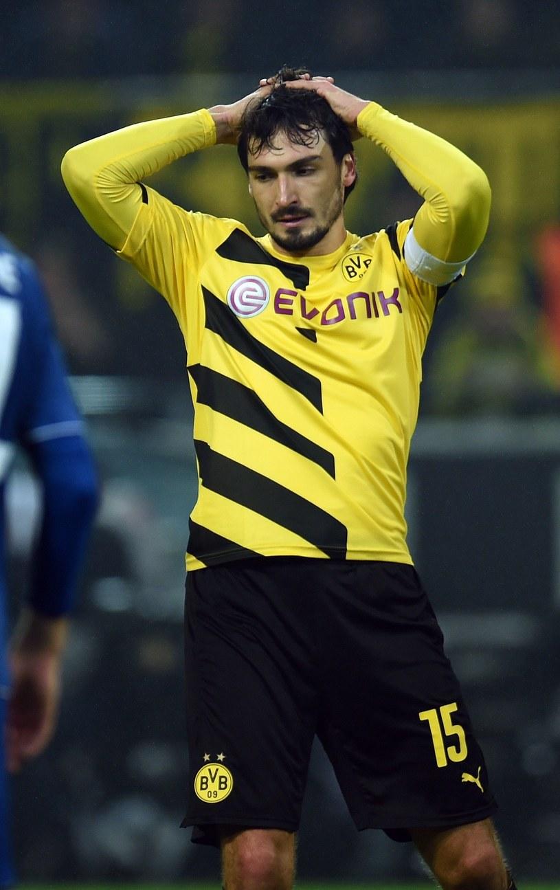 Mats Hummels strzelił wprawdzie gola, ale - podobnie jak Borussia - nie jest w wysokiej formie /AFP
