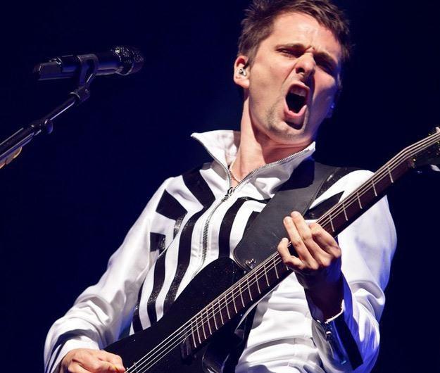 Matt Bellamy, frontman Muse - fot. Danny Payne / Rex Features /East News