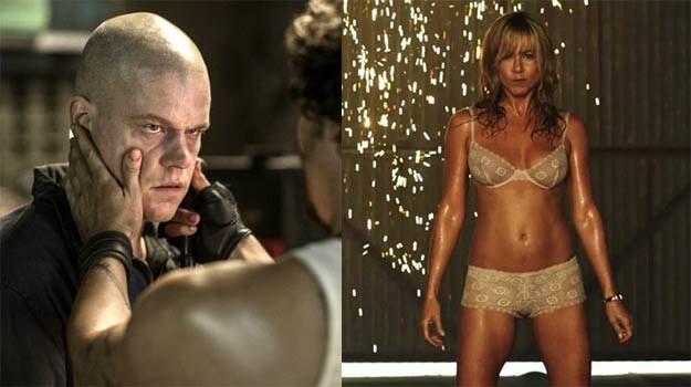 """Matt Damon (""""Elizjum"""") nie wierzy własnym oczom: Jennifer Aniston (""""Millerowie"""") wciąż jest sexy! /materiały dystrybutora"""