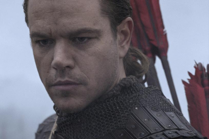 """Matt Damon - gwiazda """"Wielkiego Muru"""" /materiały prasowe"""
