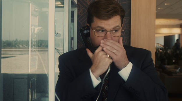 Matt Damon jako Mark Whitcare. Głuchy telefon? /materiały dystrybutora