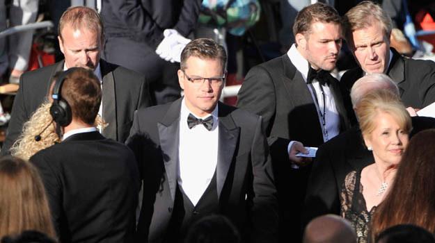 Matt Damon też miał problemy na czerwonym dywanie - fot. Gareth Cattermole /Getty Images/Flash Press Media