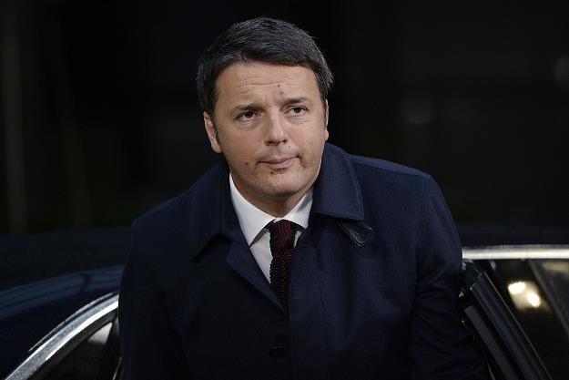 Matteo Renzi, premier Włoch /AFP