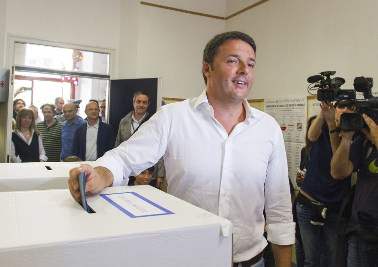 Matteo Renzi /AFP