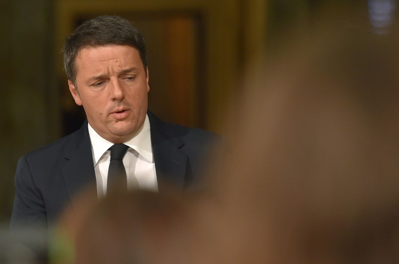 Matteo Renzi /ANDREAS SOLARO /East News