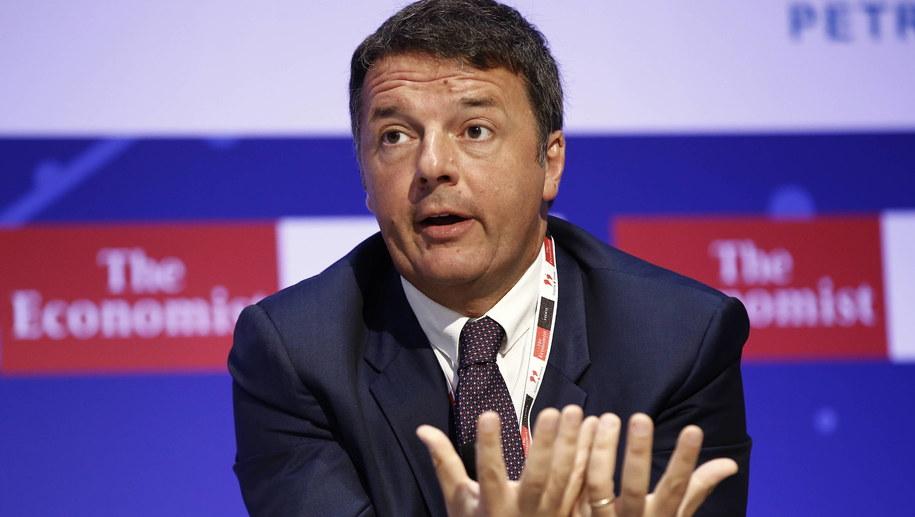 Matteo Renzi /YANNIS KOLESIDIS /PAP/EPA