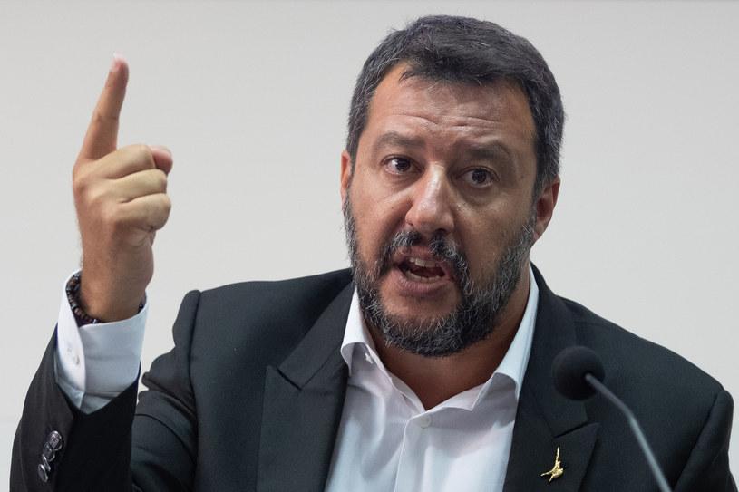 Matteo Salvini wydał zakaz wpłynięcia Open Arms na wody terytorialne Włoch /ELIANO IMPERATO /AFP
