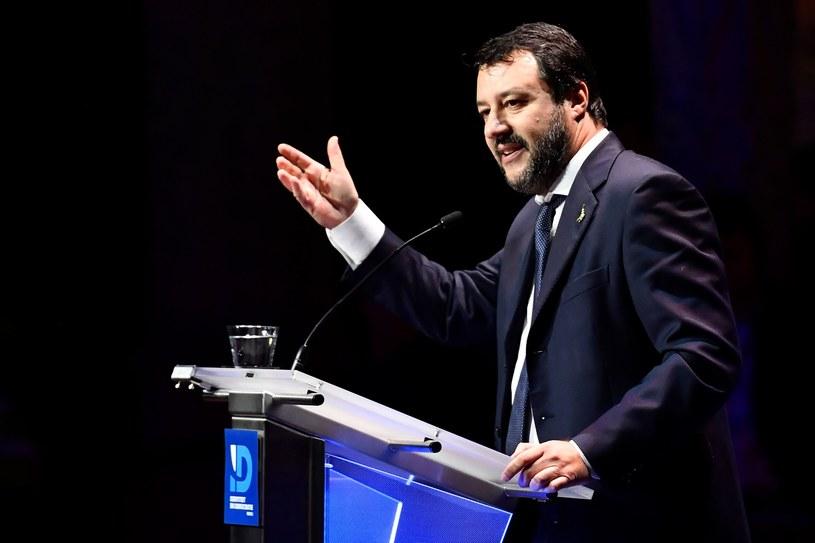 Matteo Salvini - zdjęcie archiwalne /BELGA DIRK WAEM /AFP